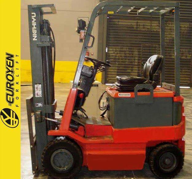 Carretilla eléctrica NICHIYU Nº 5510: Productos y servicios de Comercial Euroyen, S. L.