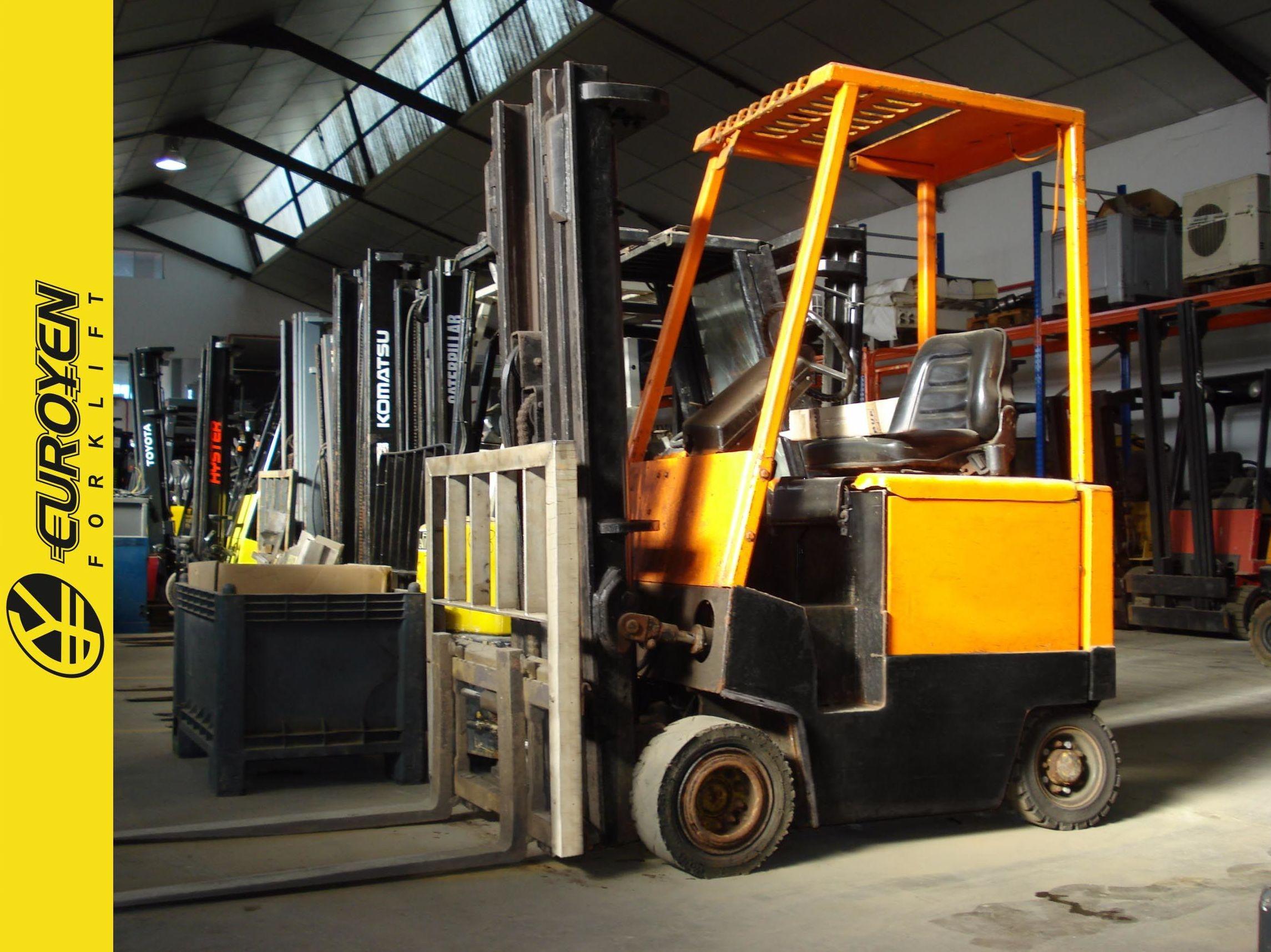 Carretilla eléctrica HYSTER Nº 6140: Productos y servicios de Comercial Euroyen, S. L.