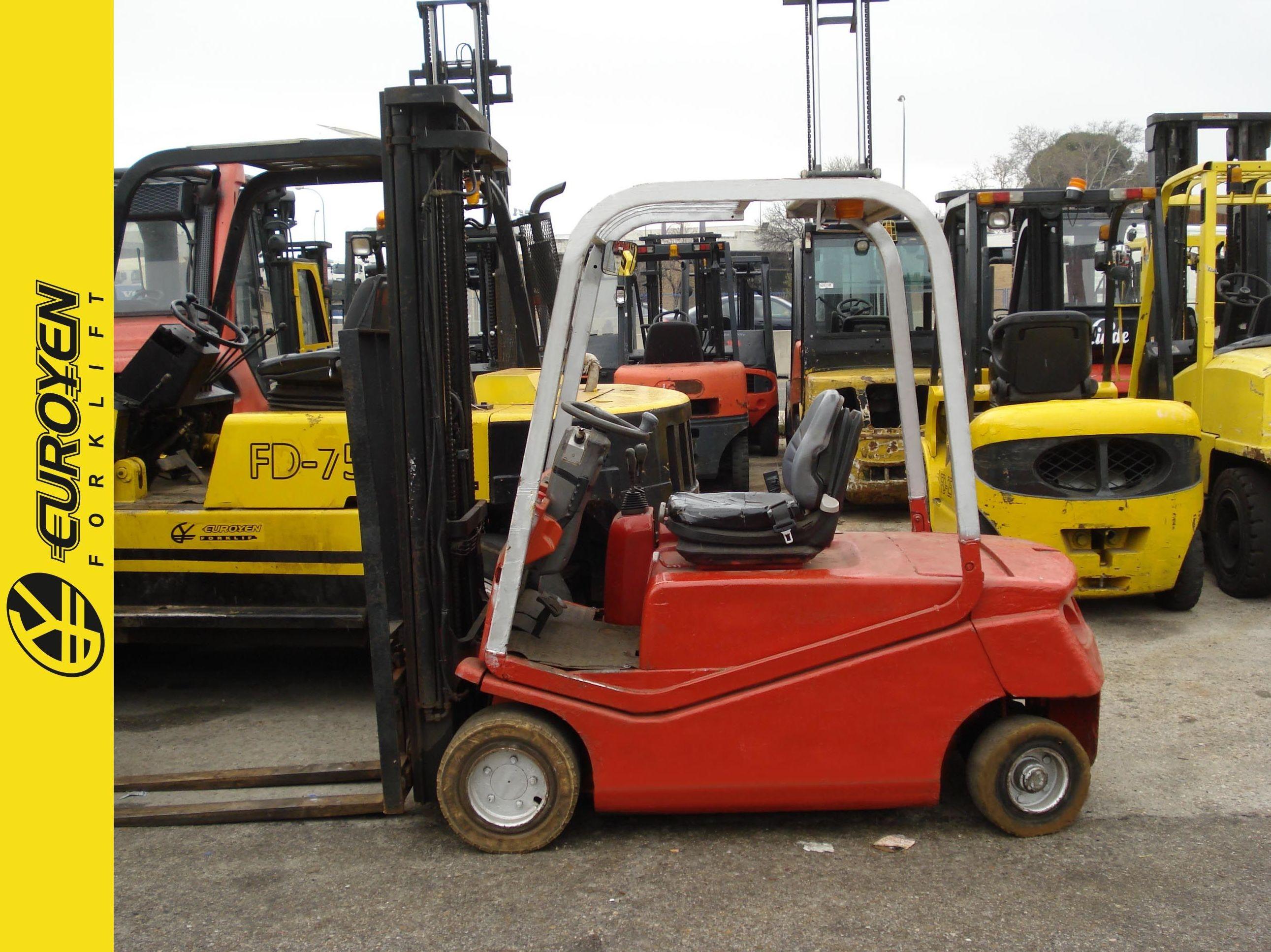 Carretilla eléctrica BT Nº 6176: Productos y servicios de Comercial Euroyen, S. L.