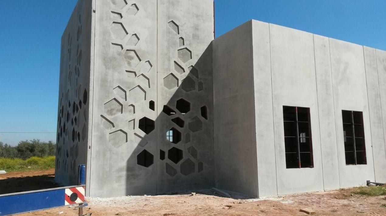 Empresa de prefabricados de hormigón
