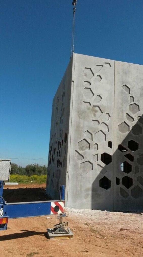 Fabricación y montaje de estructuras de hormigón en Andalucía