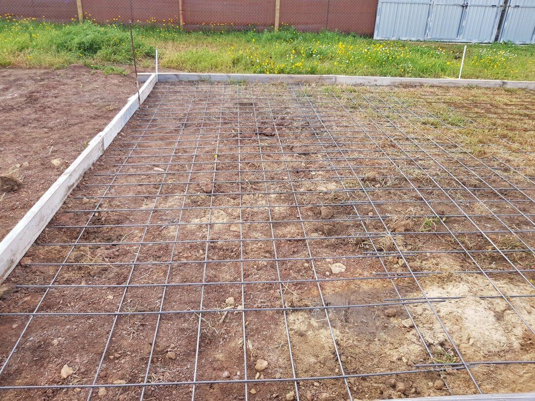 Instalación de suelo en exterior