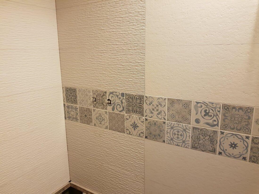 Las paredes lucen diferente con azulejos