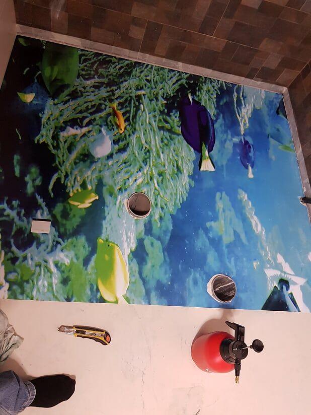 Papel pintado con un toque marítimo