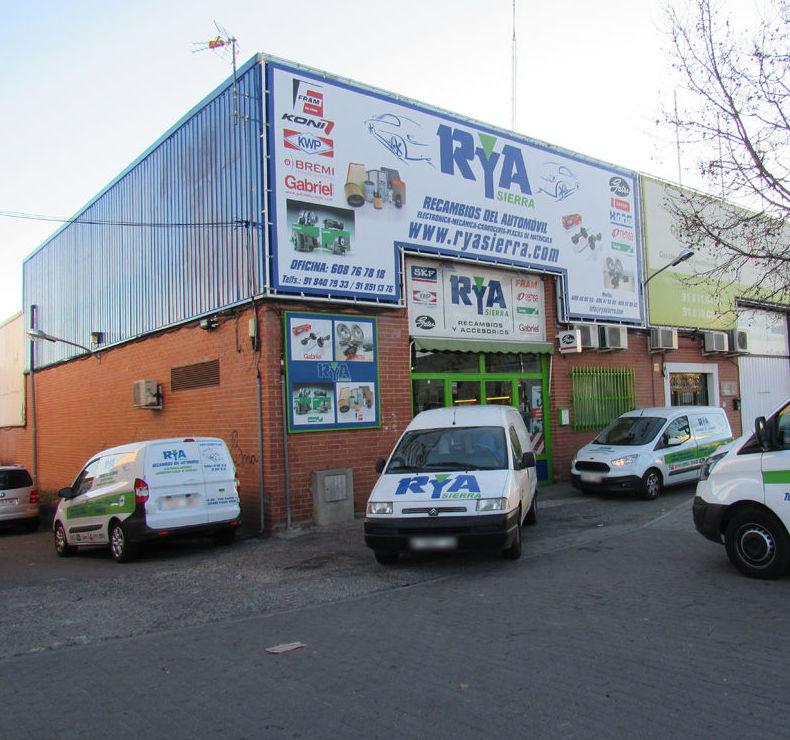 Nuestra tienda de recambios del automóvil en Collado Villalba (Madrid)