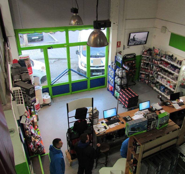La mejor tienda de raccesorios del automóvil en Collado Villalba (Madrid)