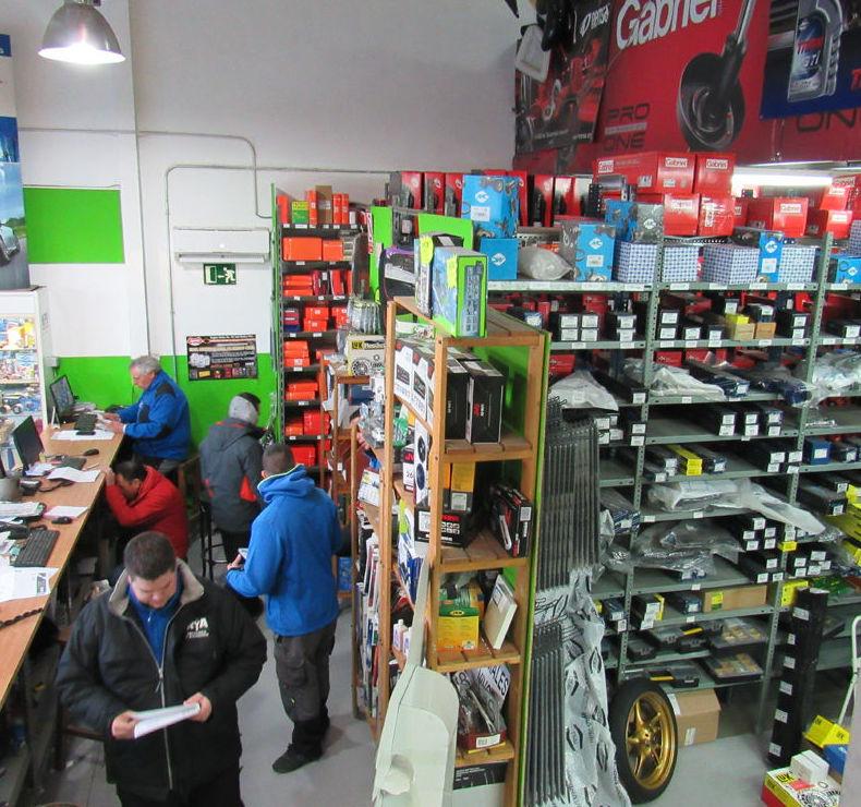 Tienda de recambios baratos para el automóvil en Collado Villalba (Madrid)