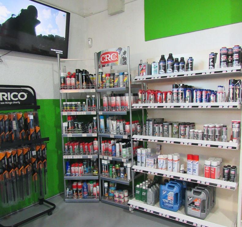 Productos para el automóvil en Las Rozas (Madrid)
