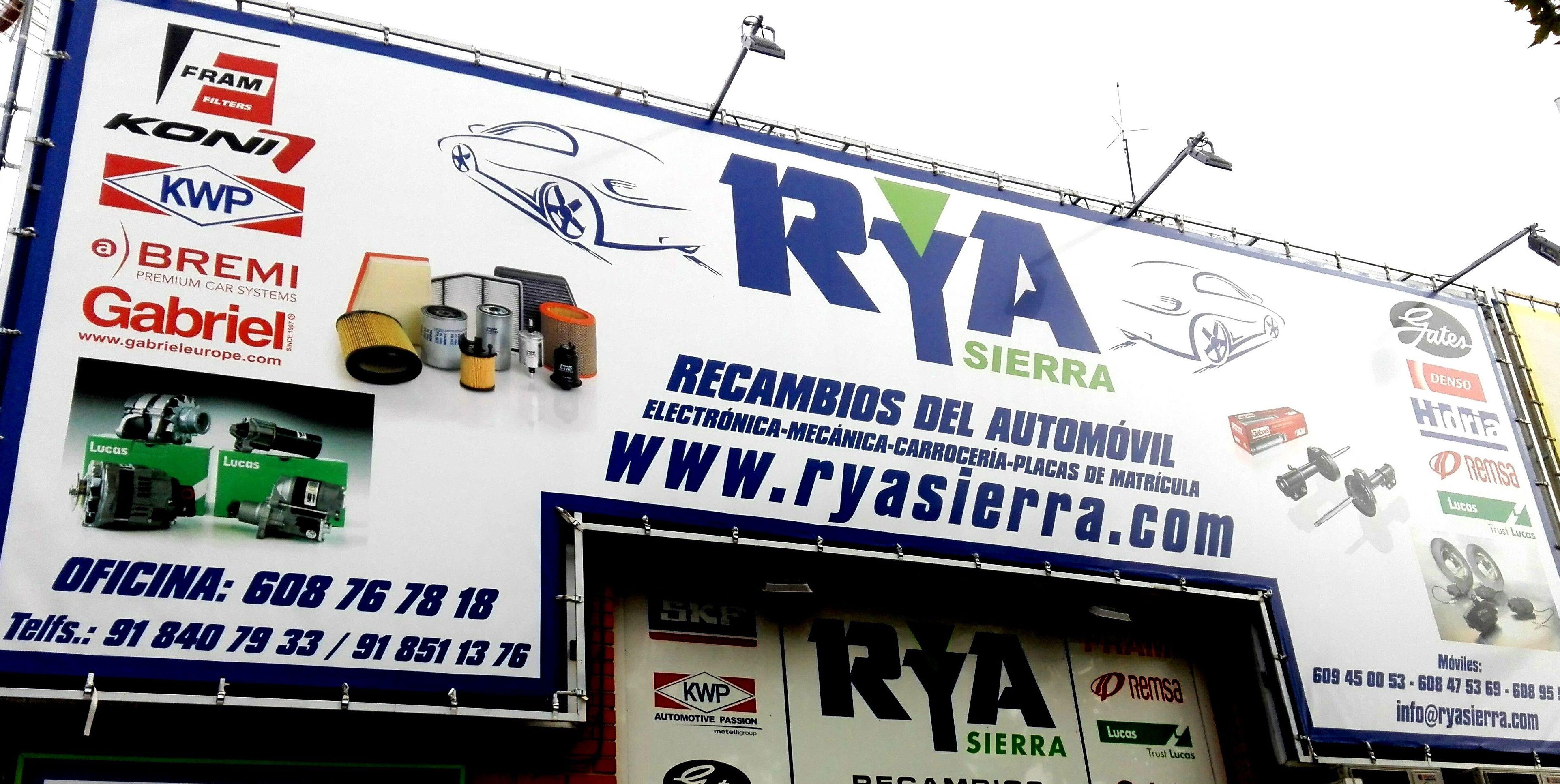 Foto 10 de Recambios para automóviles en Collado Villalba | RyA Sierra