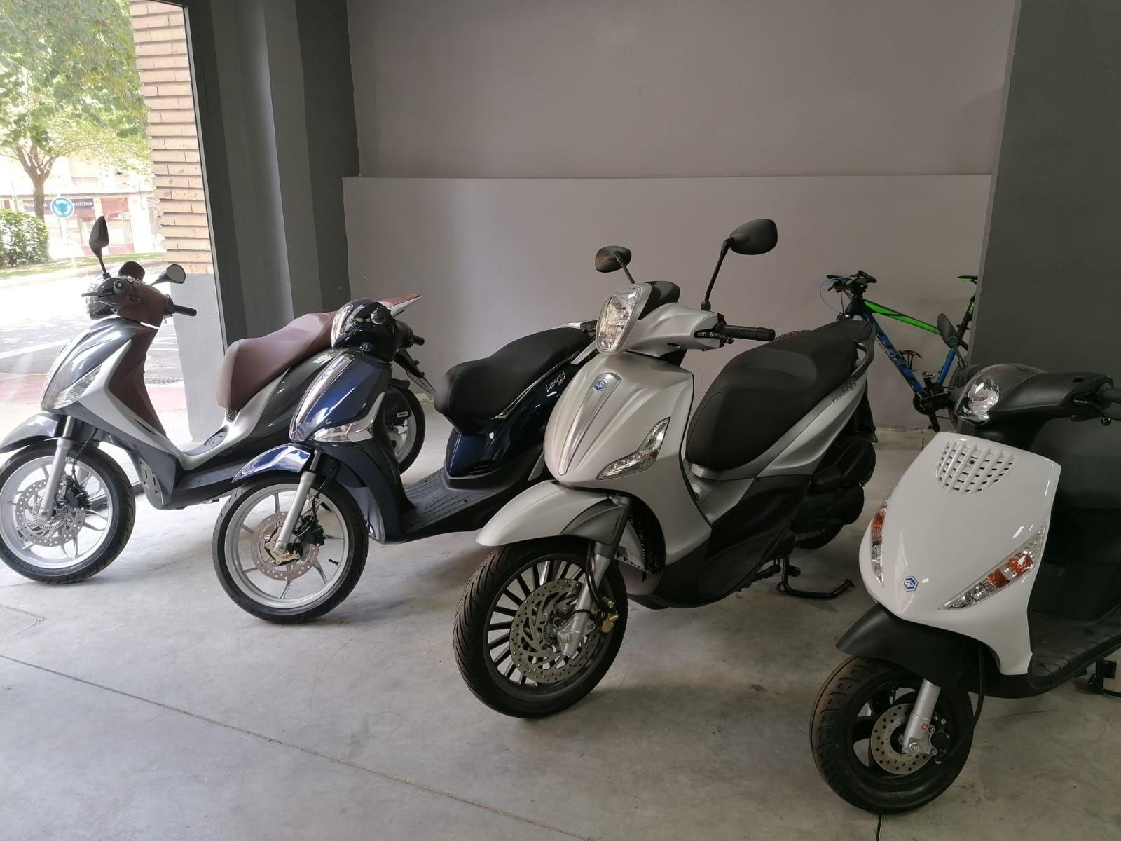 Venta de motos en Tudela