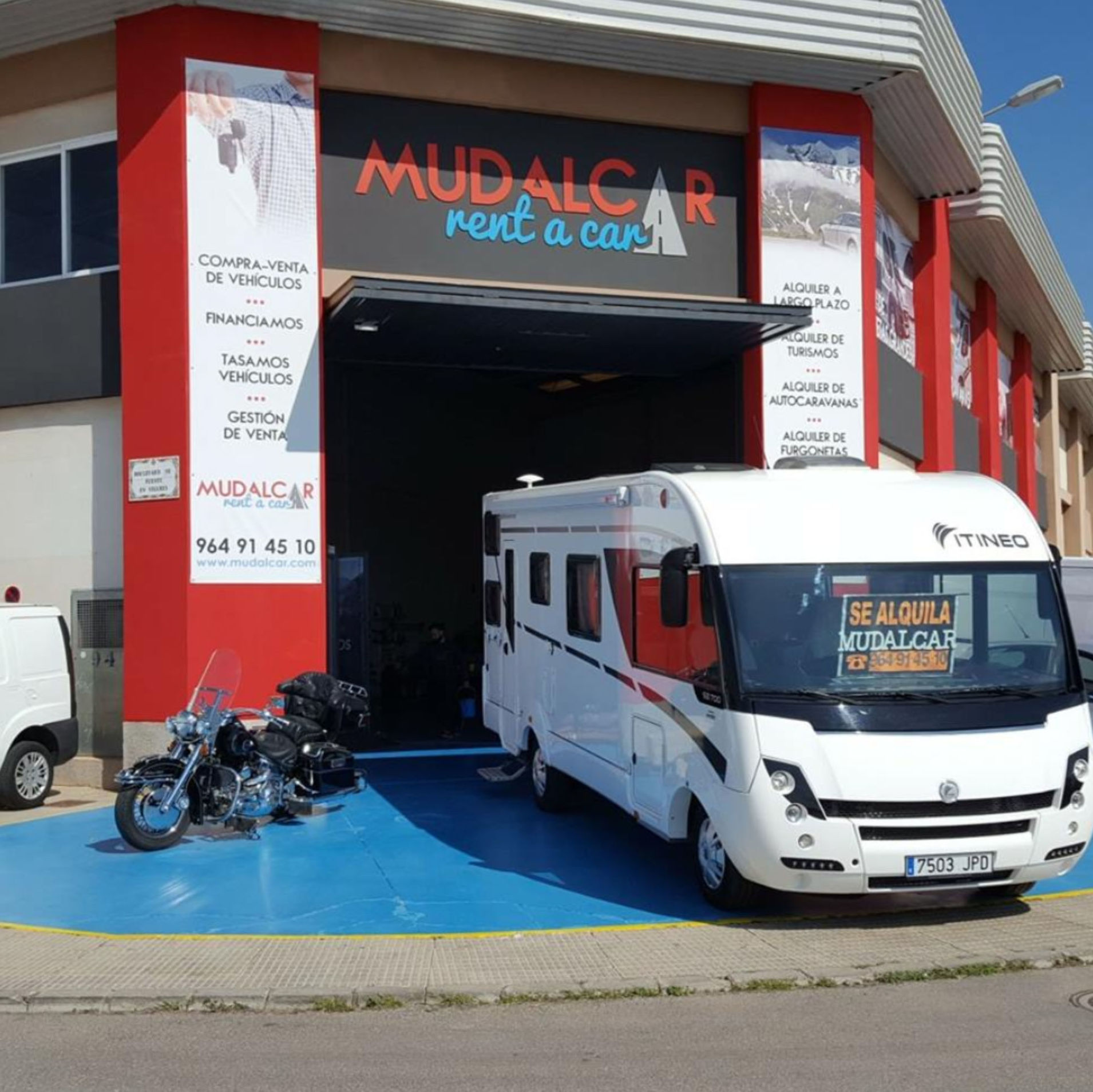 mudalcar rent a car | alquiler de caravanas Catellon