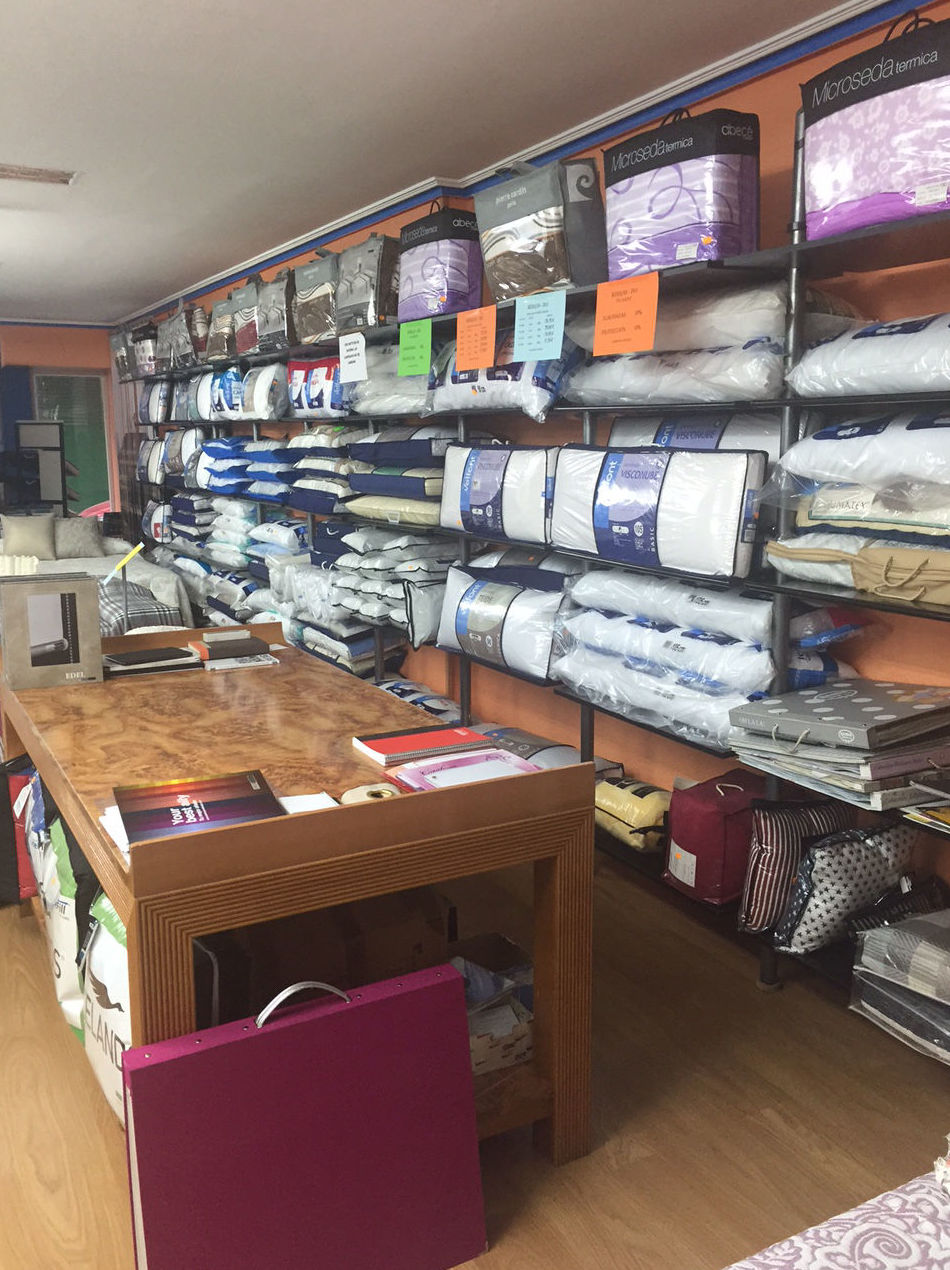 Muestrario de ropa de cama