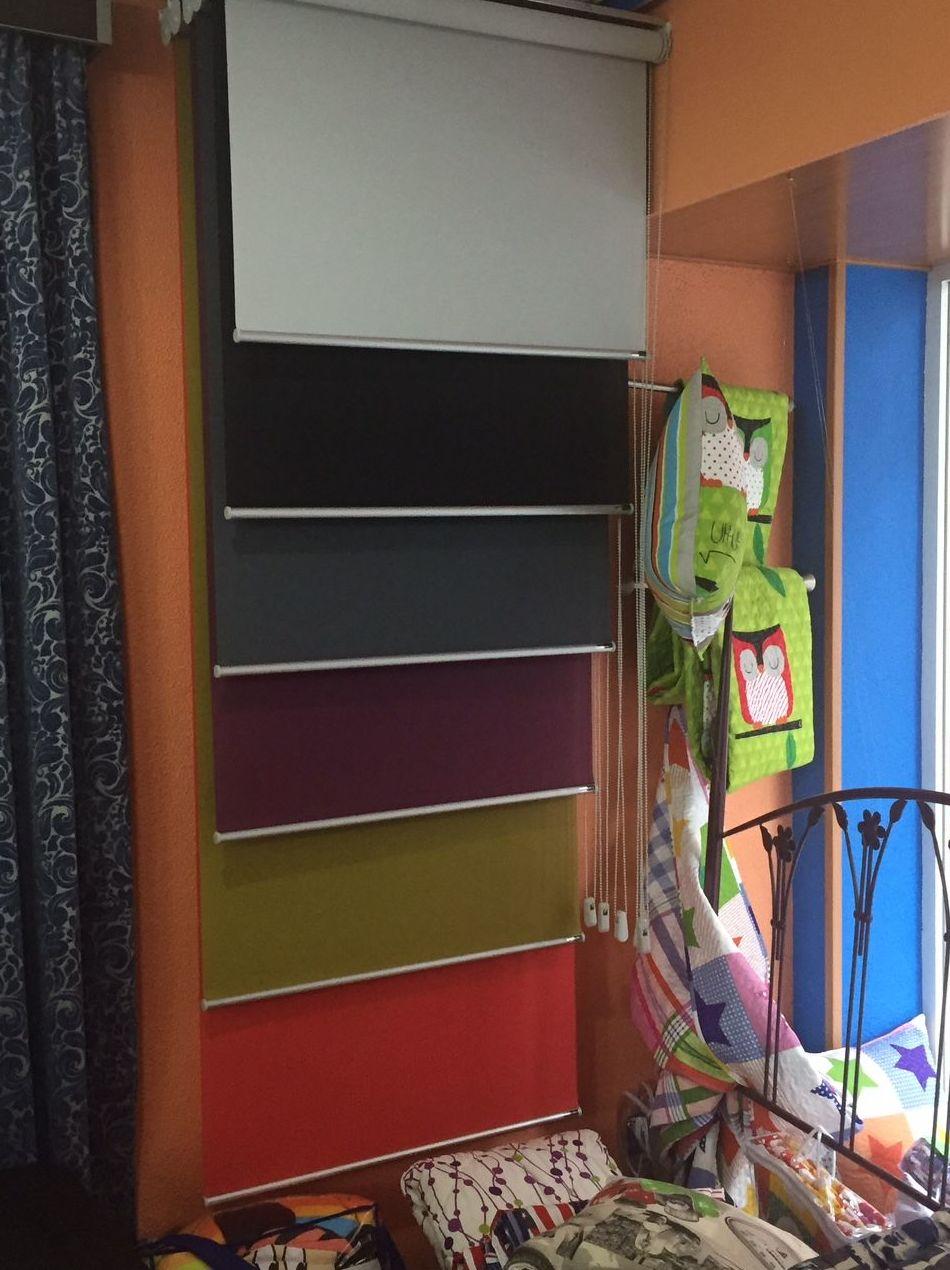 Amplia gama de cortinas