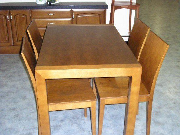 Mesas y sillas de cocina en Bilbao