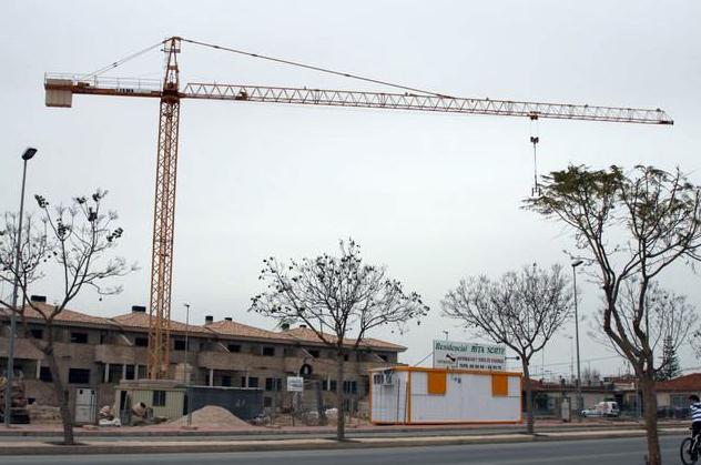 Mantenimiento de grúas de construcción en Murcia