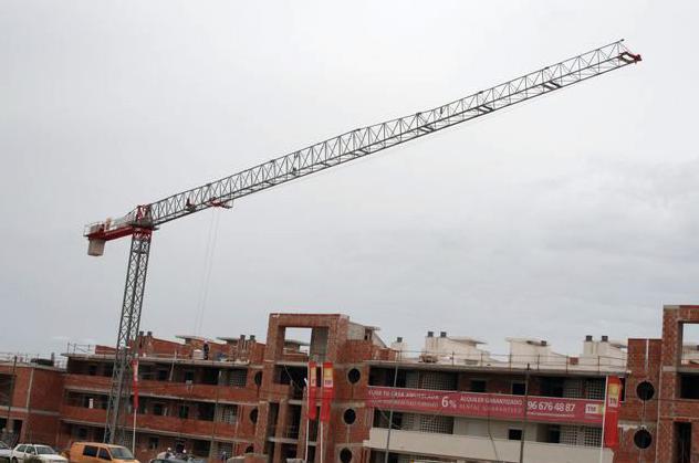 Venta y alquiler de grúas para la construcción en Torre-Pacheco