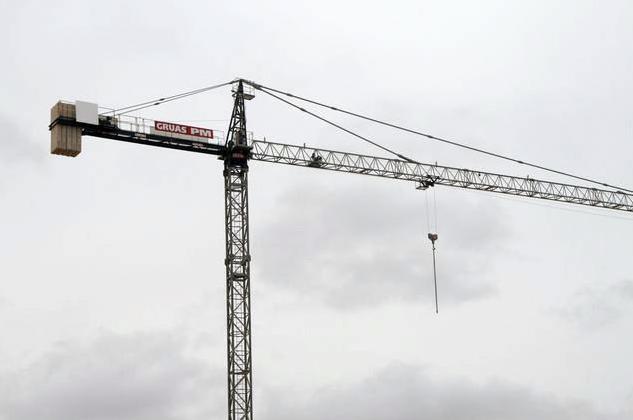 Alquiler de grúas torre a empresas de construcción