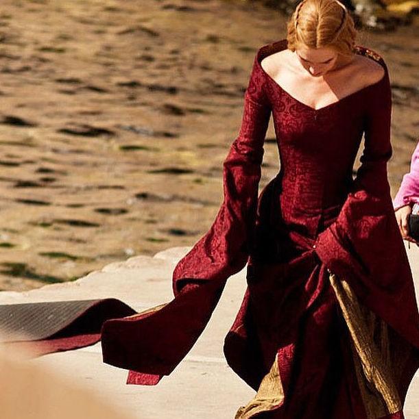 Sesión en exterior Cersei Lanister