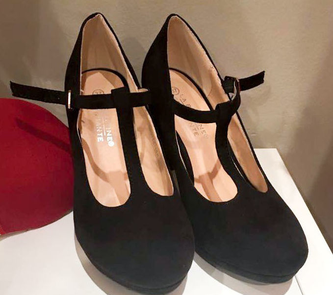 Zapatos Mary Jane Stripe