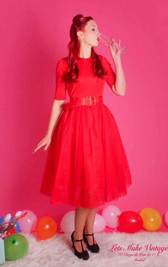 Vestido Miss Tulle Vamp