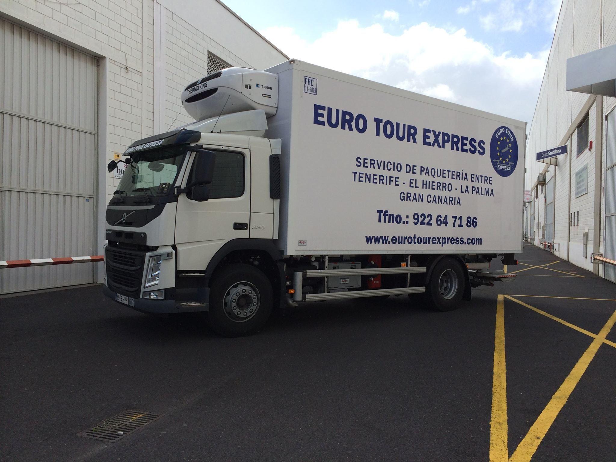 Paquetería: Servicios de Euro Tour Express S.L.