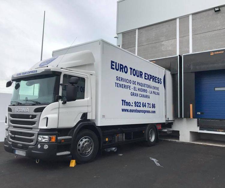 Transporte de mercancías por carretera en Tenerife