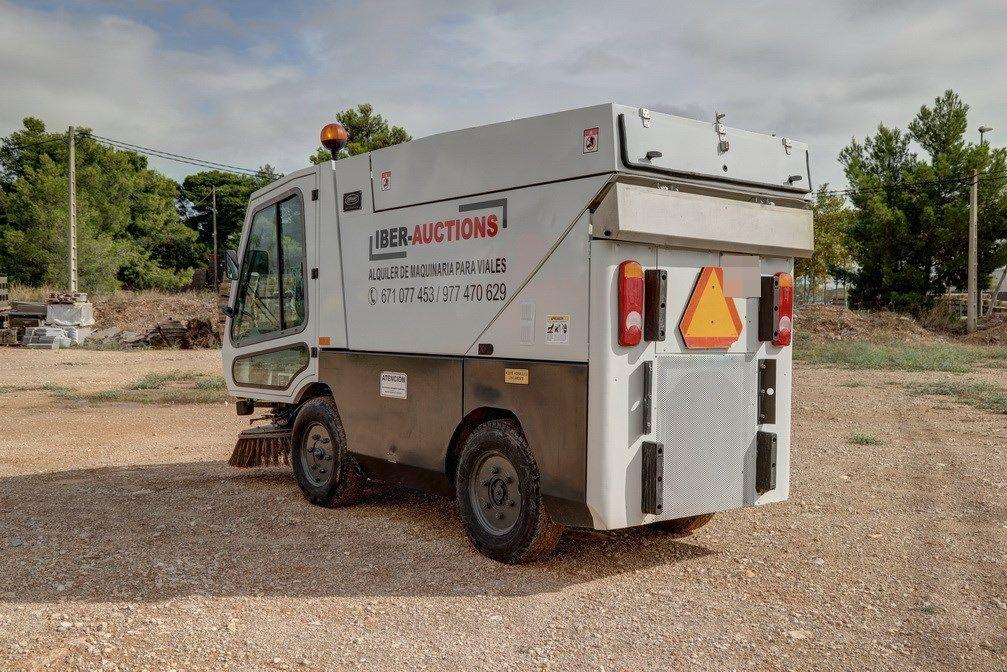 Camión- barredor Iber Auction