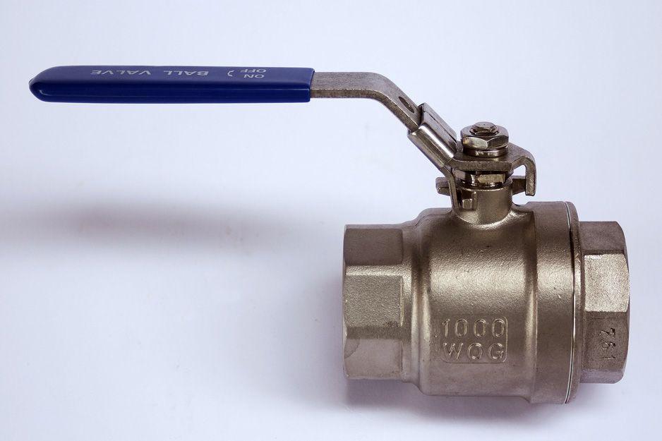 Llaves de paso para instalaciones de agua y de vapor industrial