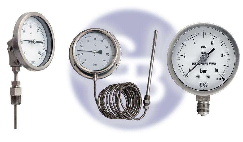 Suministros para calderas y circuitos de vapor