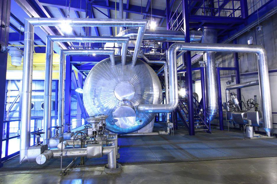 Estudio de ahorro energético de vapor industrial