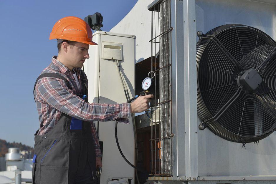Reparación de aire acondicionado industrial en Madrid