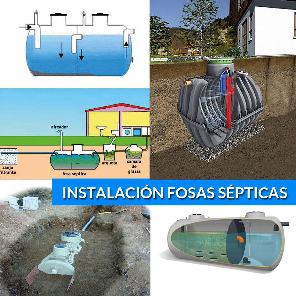 Departamento de obras productos y servicios de acovall - Productos para fosas septicas ...