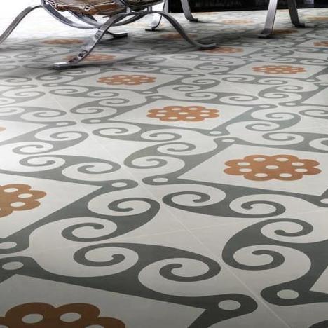 Pavimento porcelánico y rectificado de Aparici. Diseños de antaño, calidades actuales, máximas prestaciones.