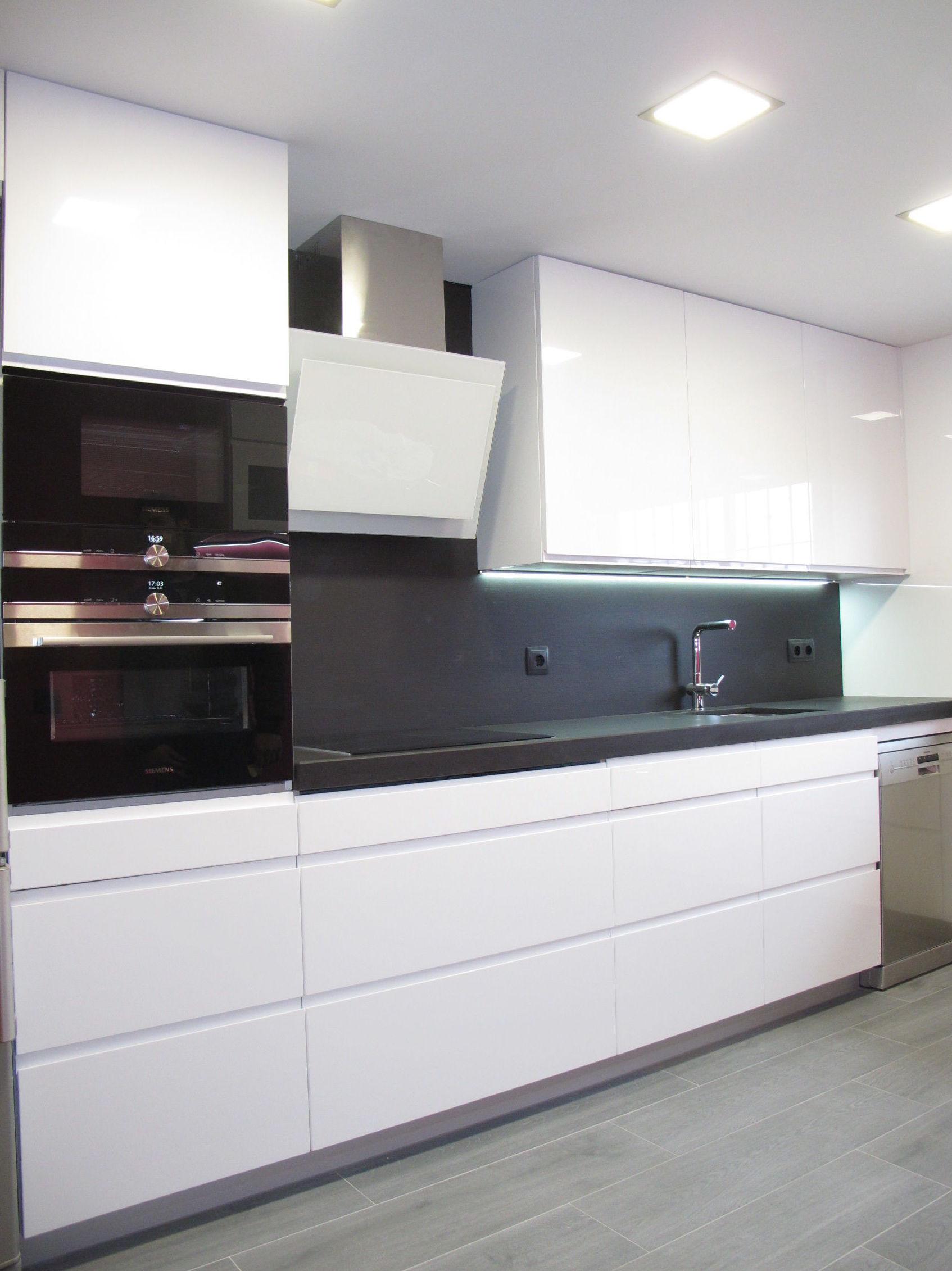 Muebles de Cocina - Proyecto realizado en coslada: Catálogo de Diseño en Cocinas MC