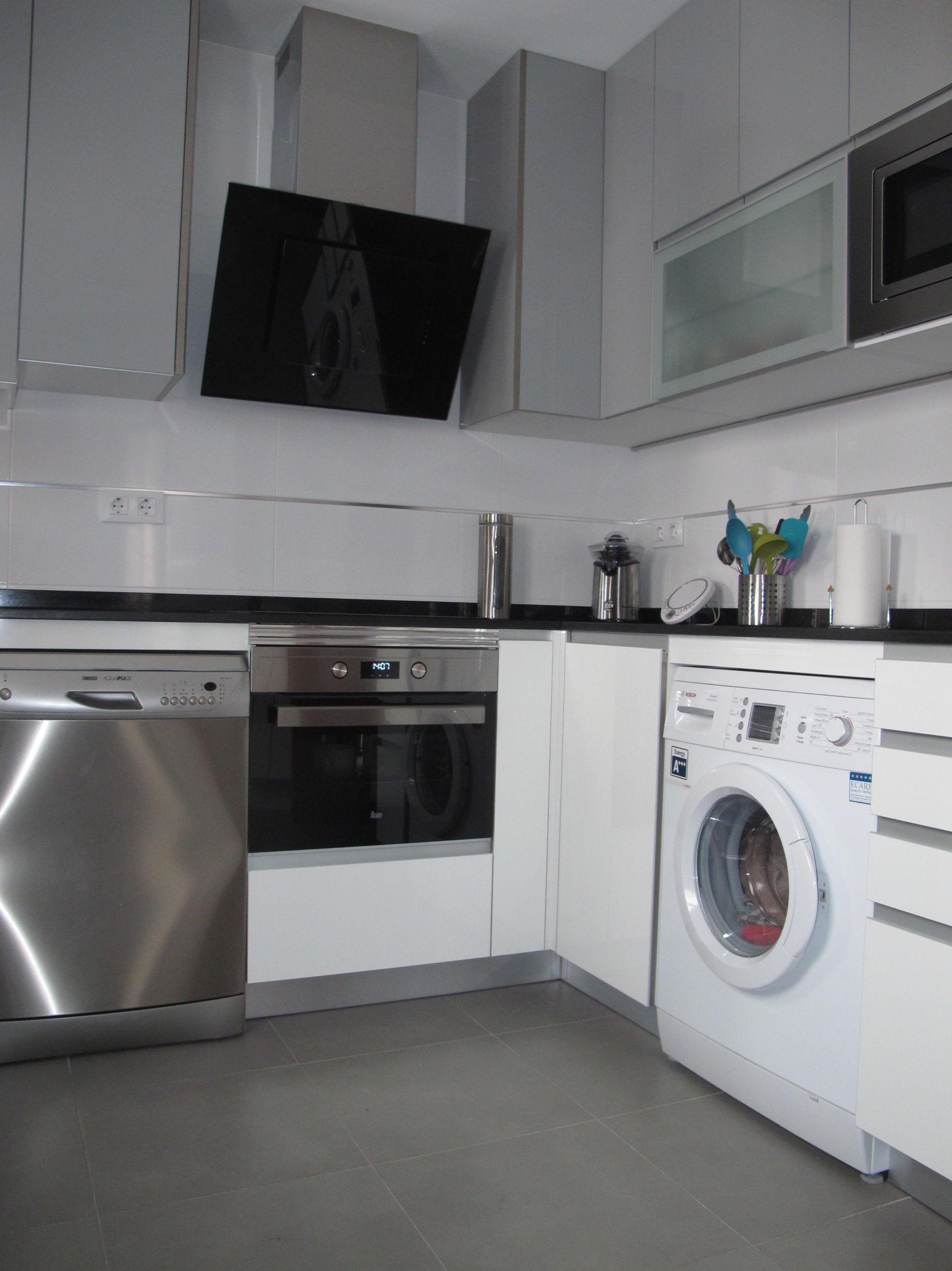 Muebles de Cocina - Proyecto realizado en vistalegre: PROYECTOS REALIZADOS de Diseño Cocinas MC