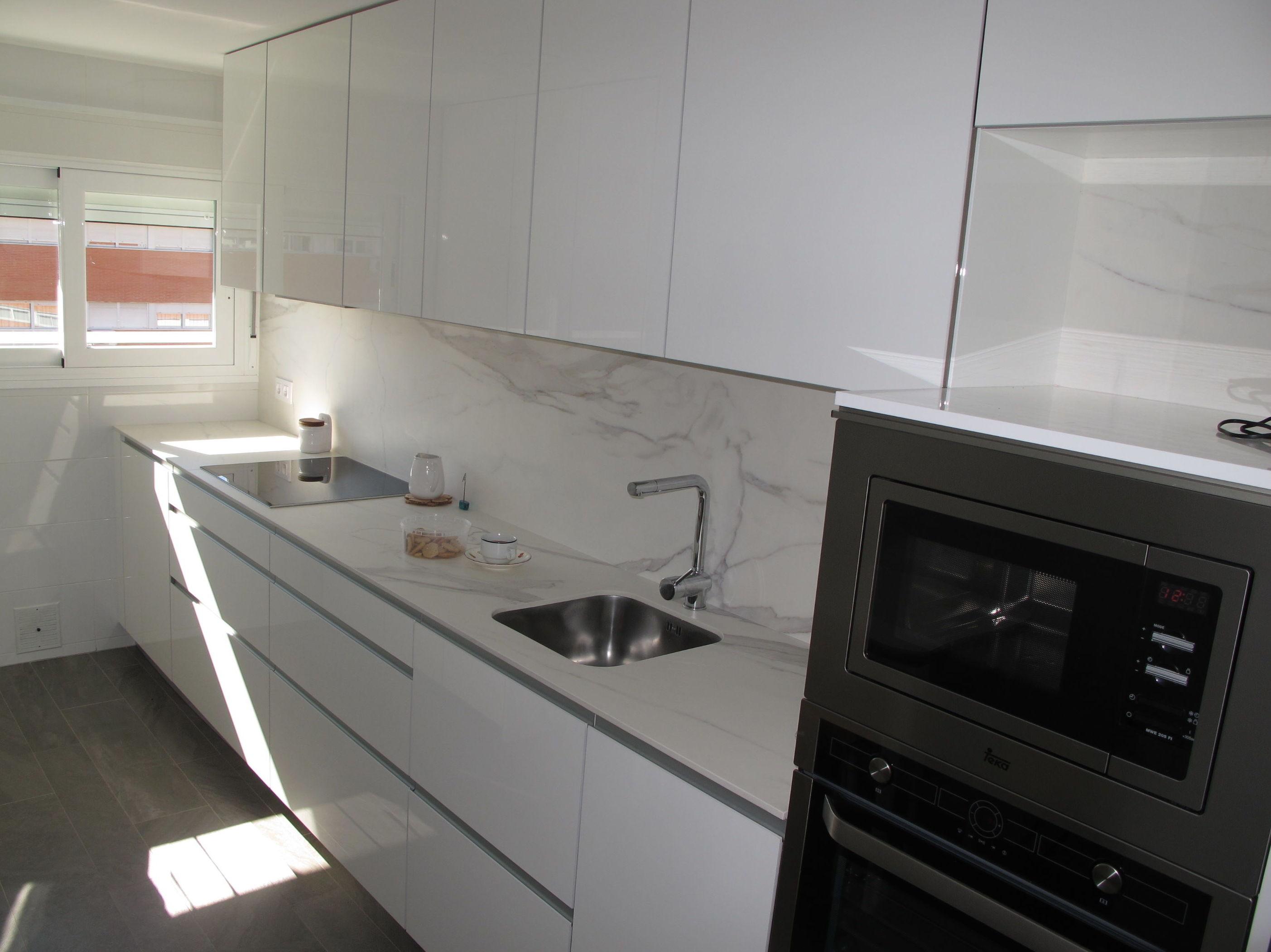 Dise os cocinas mc grupo de luxe proyecto realizado en - Sobre encimera cocina ...