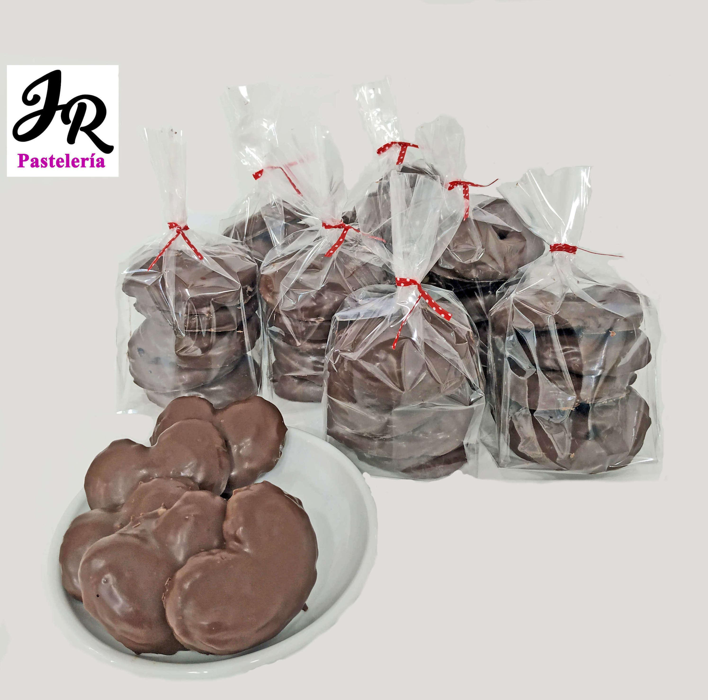 Palmeritas de chocolate en bolsitas de 5
