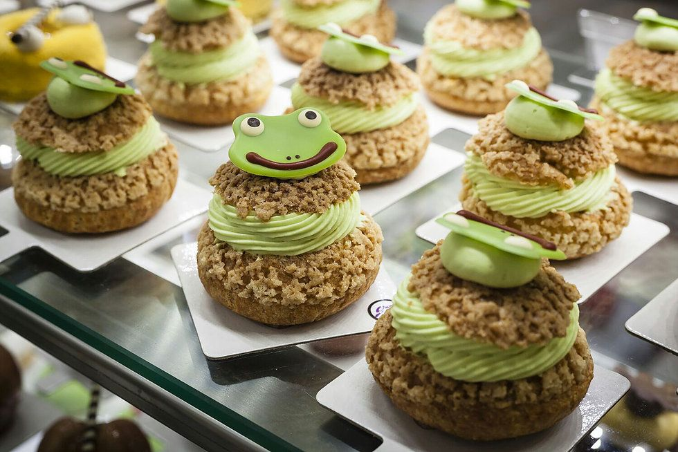 Creative and artisan pastry in Madrid
