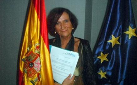 Recogida título oficial Especialista europea en Psicoterapia