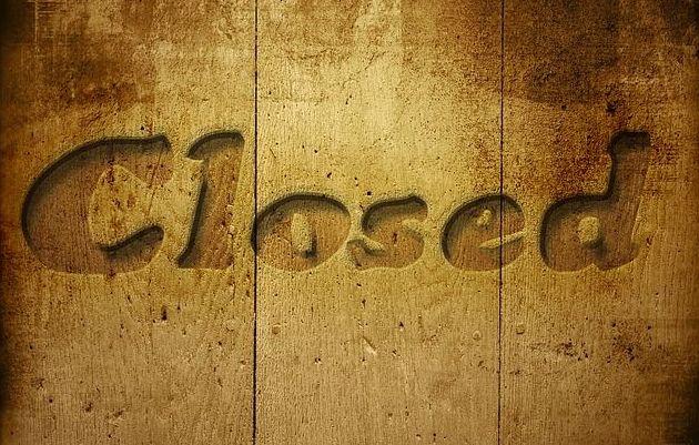 Cerrados en Semana Santa