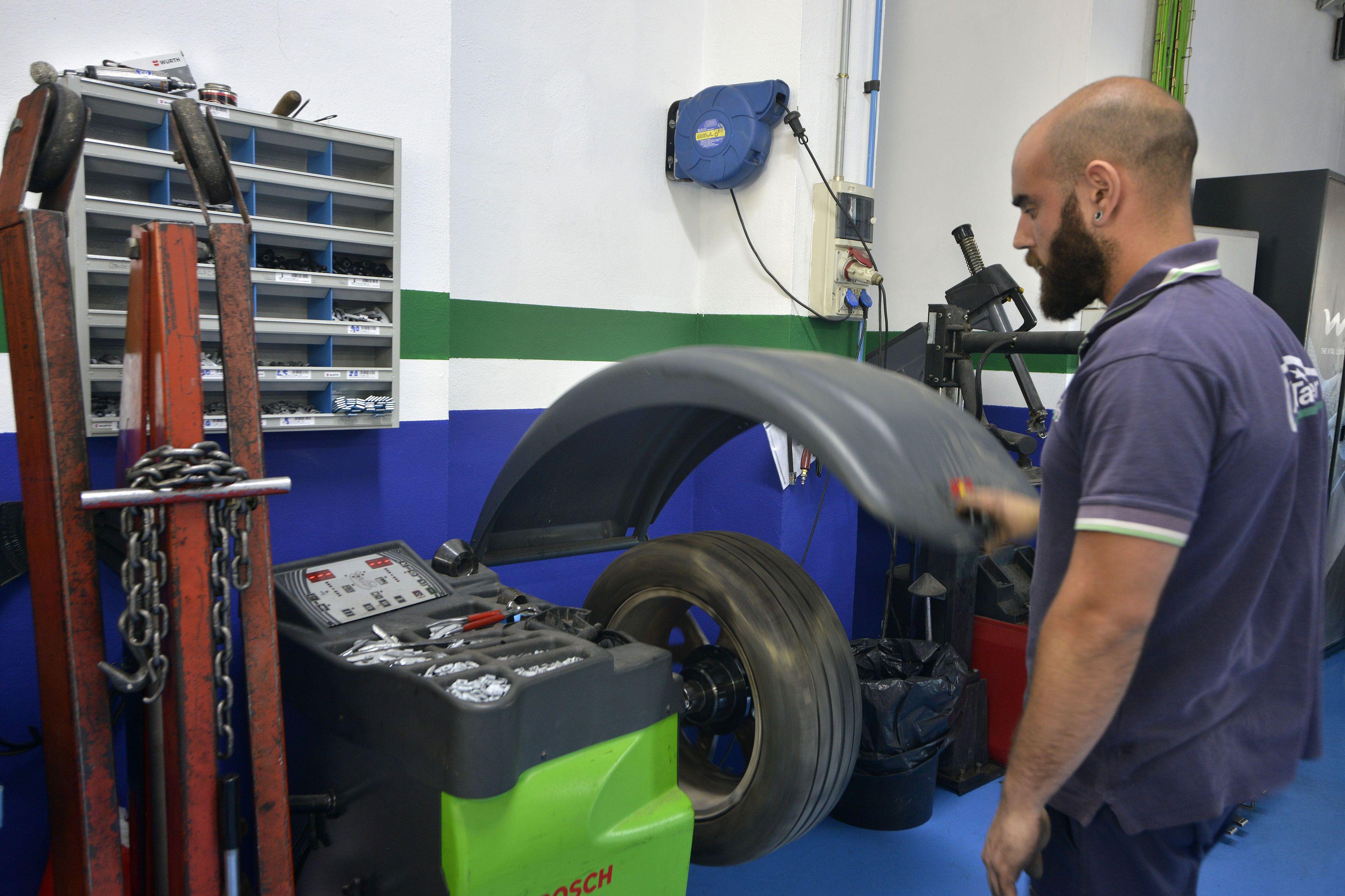 Cambio neumáticos Jaén