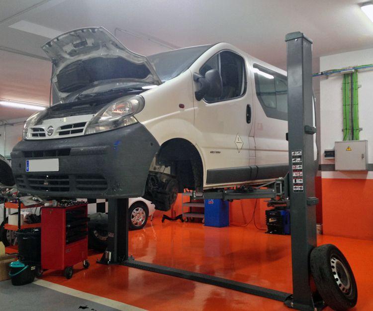 Reparación mecánica de vehículos en Linares