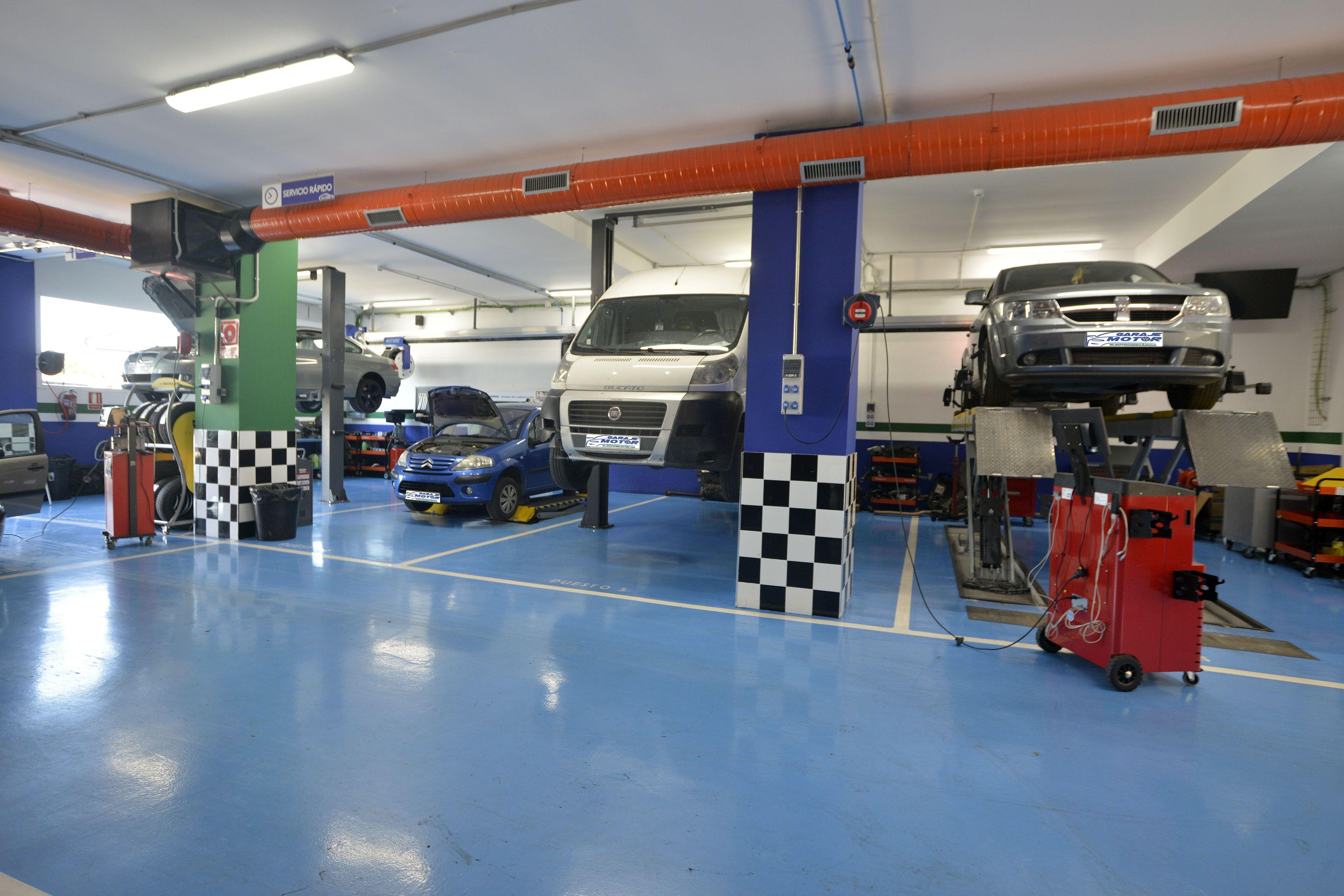 Foto 18 de Taller mecánico en Linares | Garaje Motor Linares