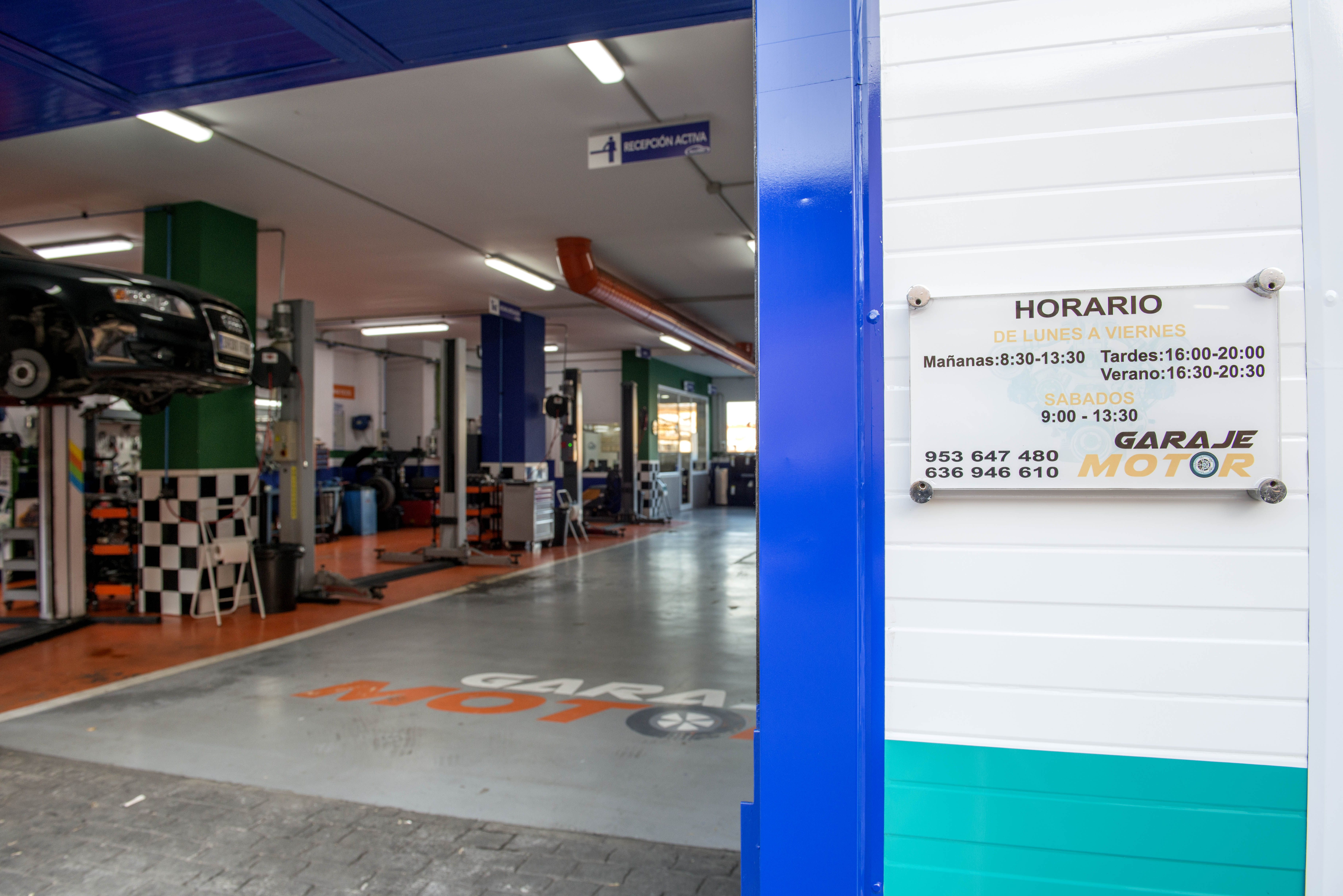 Foto 2 de Taller mecánico en Linares | Garaje Motor Linares