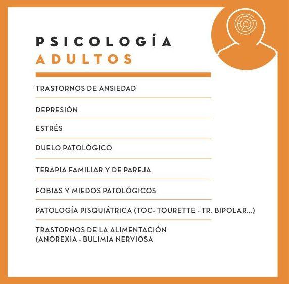 Psicología Clínica de Adultos: Servicios de Centro GOA
