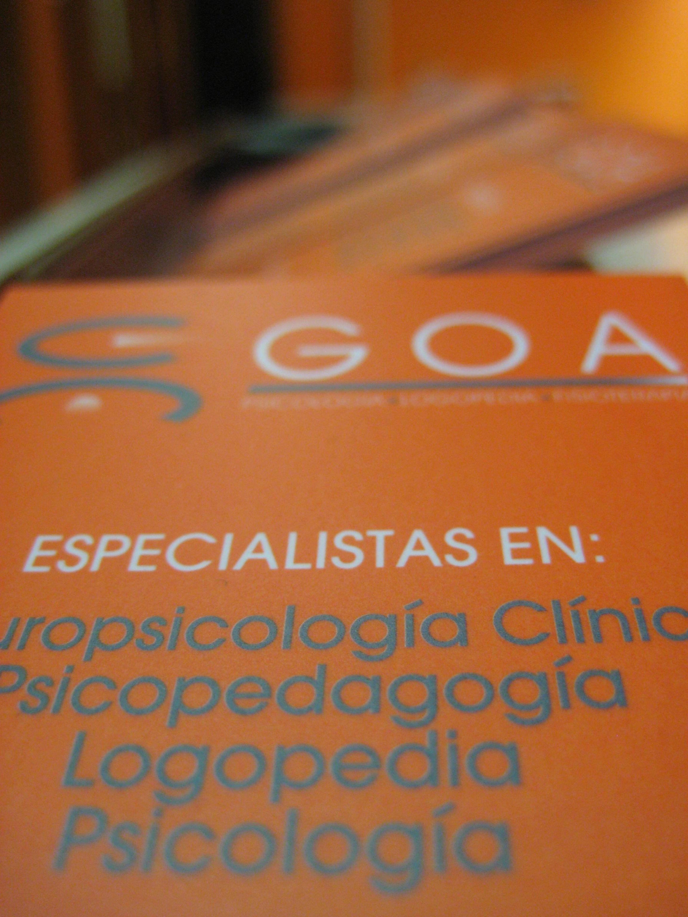 Foto 11 de Clínicas en Oviedo | Centro GOA