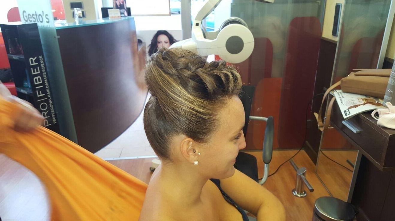 Peinado novia en Murcia