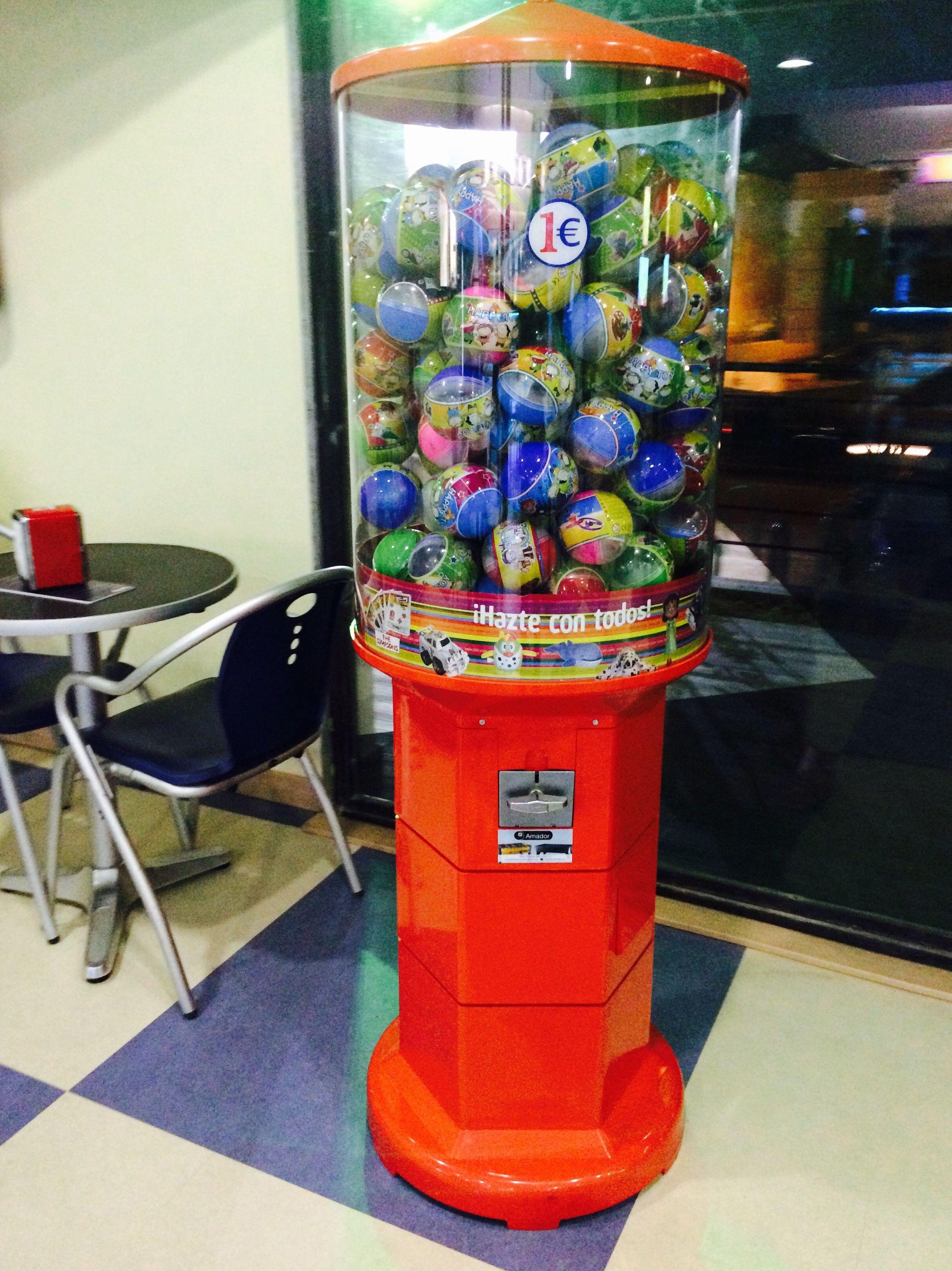 Maquina de bolas para niños