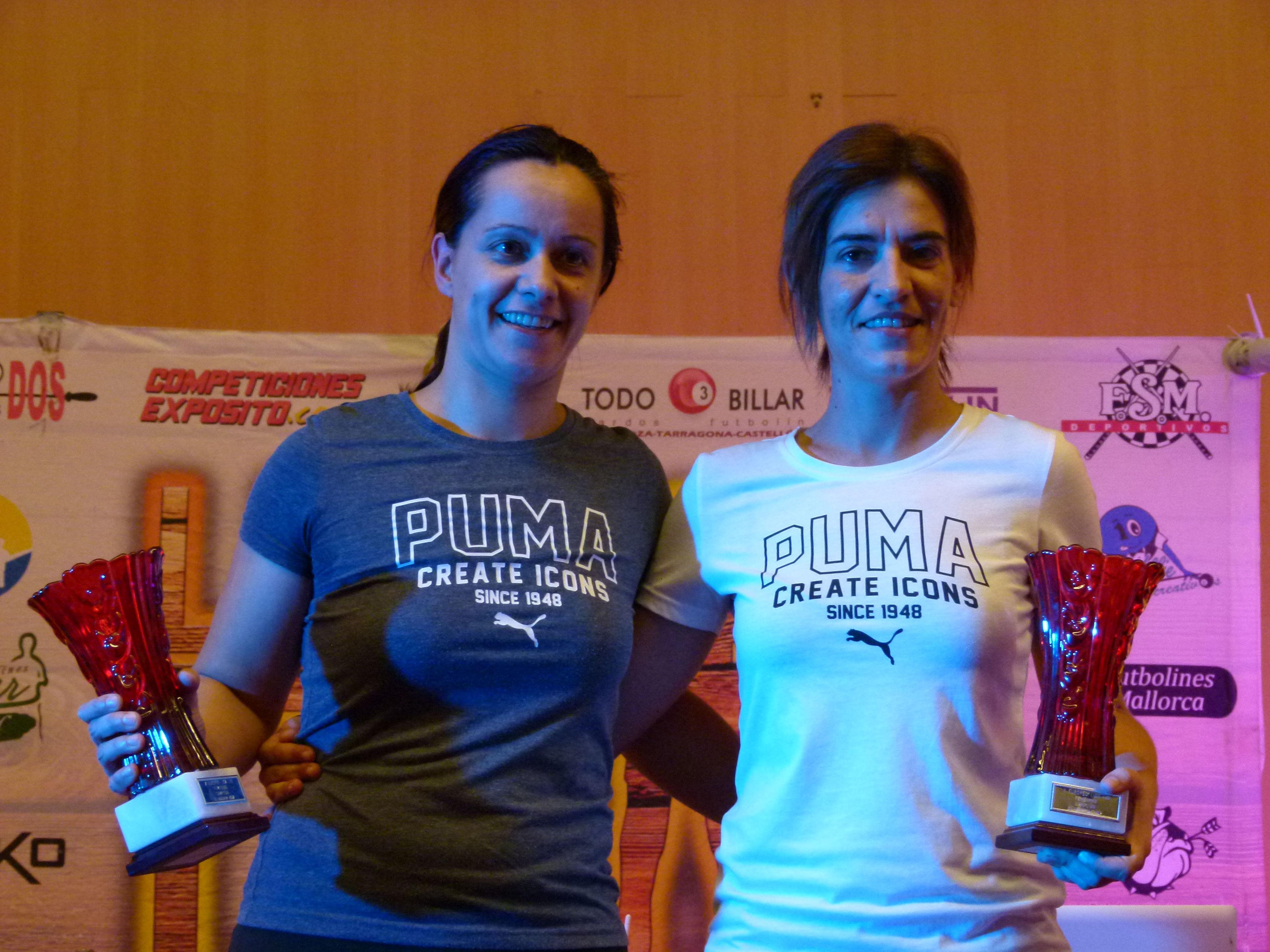 1º puesto el el campeonato femenino de Benidorm