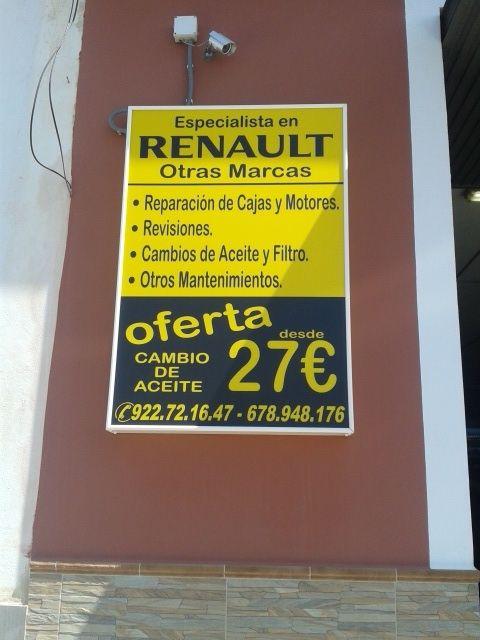 Foto 3 de Talleres de automóviles en Arona | Taller de mecánica Antonio Álvarez, S.L.L.